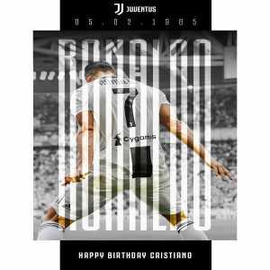 Happy 34th birthday Cristiano Ronaldo!