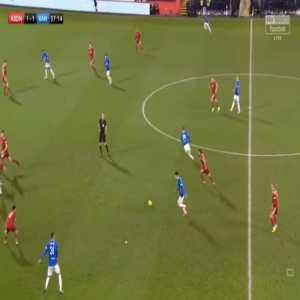 Aberdeen 1-[2] Rangers - Alfredo Morelos 38'
