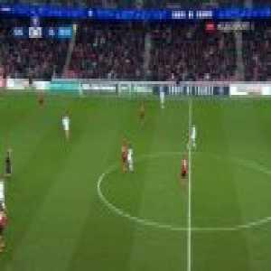 Guingamp 0-1 Lyon - Moussa Dembélé 7'
