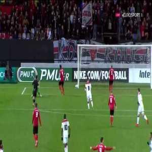 Guingamp 1 vs 2 Olympique Lyonnais - Full Highlights & Goals