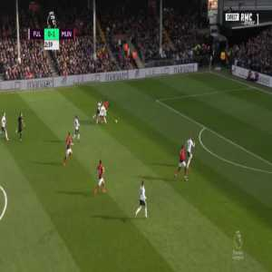 Fulham 0-2 Manchester United - Anthony Martial 23'
