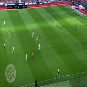 Atletico Madrid [1]-1 Real Madrid : Griezmann 25'