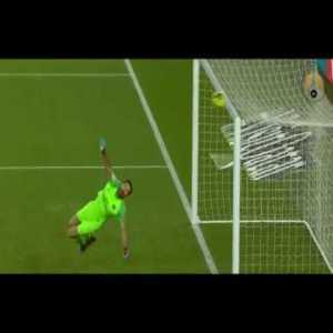 Buffon save against Bordeaux