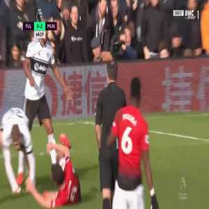 Fulham 0-3 Manchester United - Paul Pogba penalty 65' (+ call)