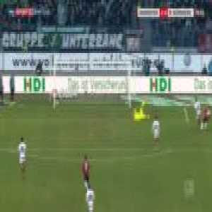 Hannover 2-0 Nurnberg - Nicolai Muller 77'