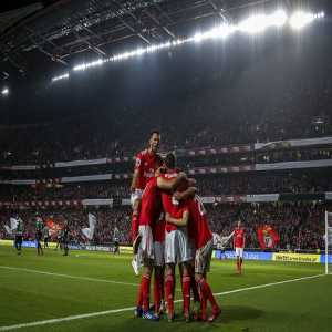 Benfica's 10-0 win is the biggest in 55 years (1964) of Primeira Liga, when they defeated Seixal by same result.