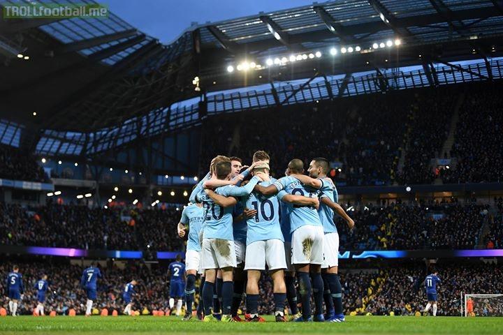 Man City 6-0 Chelsea.  Incredible.