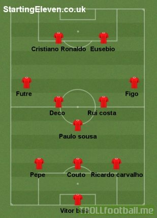 all-time Portugal XI