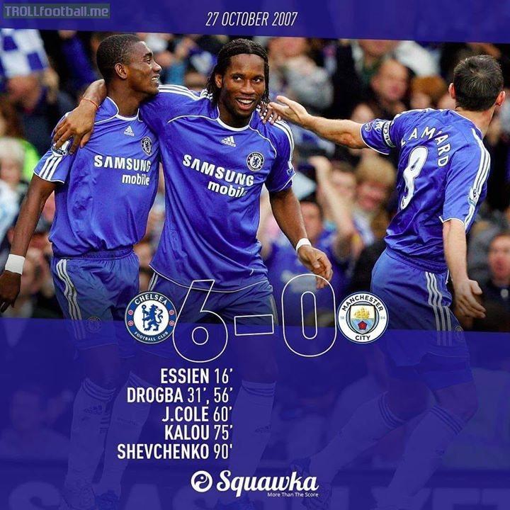 We already did it 12 years ago!!!  Chelsea BleedBlue