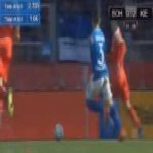 Bochum 0-2 Kiel - Janni-Luca Serra penalty 32'