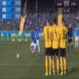 Darmstadt 1-0 Dresden - Tobias Kempe penalty 44'