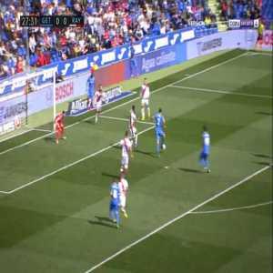 Getafe 1-0 Rayo Vallecano - Jaime Mata 28'