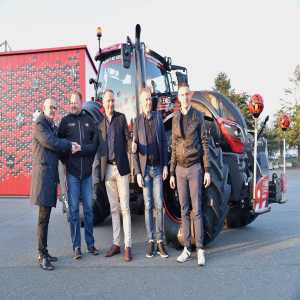 Guingamp is presenting its new official tractor