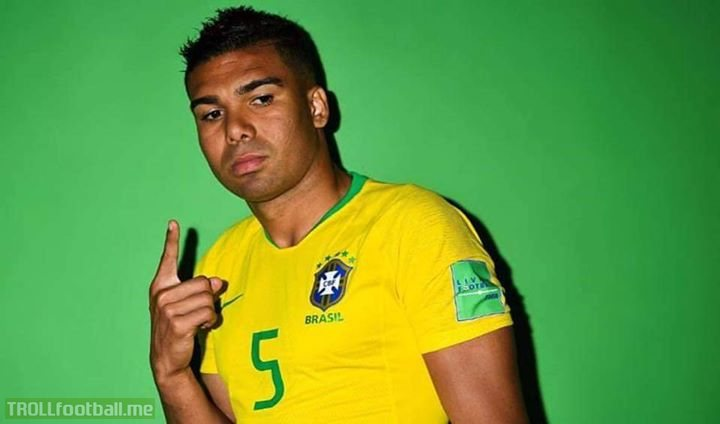 Happy birthday to the best Defensive Midfielder in the world. Today the 4 times Champions League winner Casemiro is 27 years old 😍😍💚💛🇧🇷