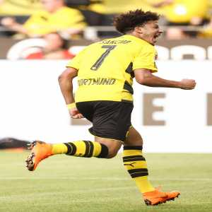 In the last 3 appearances vs Leverkusen, Sancho has been involved in 7 goals. (2 goals and 5 assists)