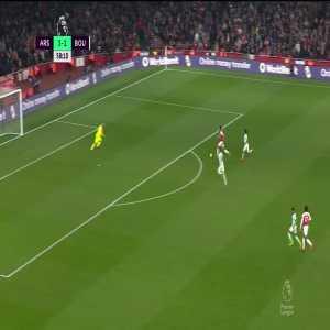 Arsenal [4]-1 Bournemouth: Aubameyang