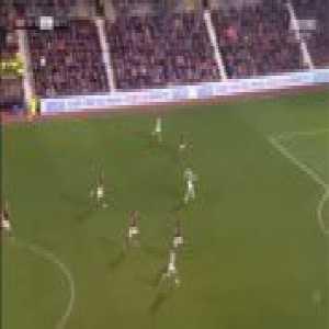 Hearts 0-1 Celtic - James Forrest 36'