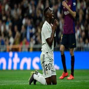 Vinícius Júnior attempted six shots in El Clasico (0 goals), more than all Barcelona players combined (four shots, three goals).
