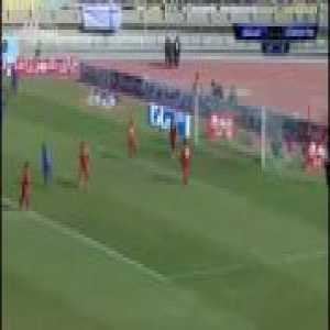 Godwin Mesha spectacular goal for Esteghlal in Iranian League today. Resembles Tim Cahill's belter in the 2014 World Cup against the Netherlands