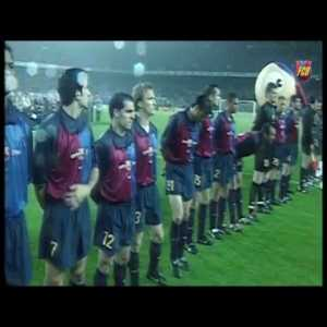 The day when Brazil played against Barcelona in a friendly