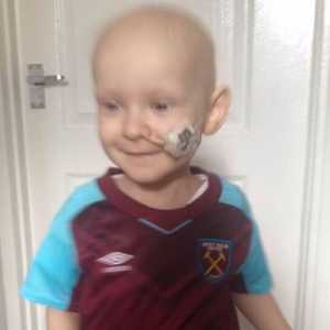 Isla Caton is cancer free! With help from West Ham & Millwall (supporters and players)