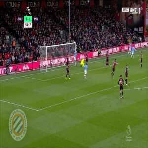 Bournemouth 0-[1] Manchester City : Mahrez 55'