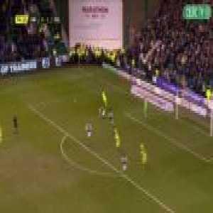 Hibernian 0-2 Celtic - Scott Brown 75'