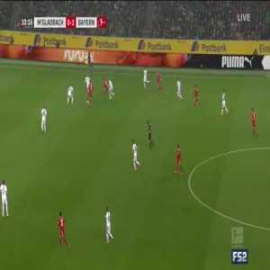 Mönchengladbach 0-2 Bayern Munich - Müller 11'