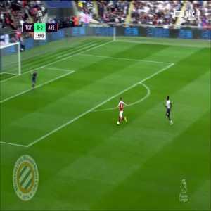 Tottenham 0-[1] Arsenal : Ramsey 16'