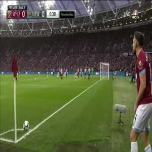 West Ham 1-0 Newcastle United - Rice 7'