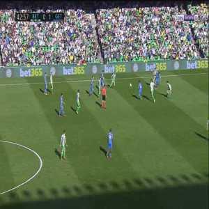 Betis 0-2 Getafe - Jaime Mata 44'