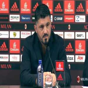 """Gattuso: """"Allegri has deleted Instagram? No no, I won't ever think about having that thing. I already receive too many insults. For me on phones the green is to make a call and the red is to hang up."""""""