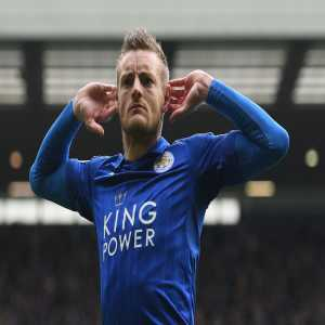 Jamie Vardy has scored the first Premier League goal under each of Leicester's last four permanent managers (Ranieri, Shakespeare, Puel and Rodgers). Party.