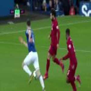 Keane tackle on Salah 56'