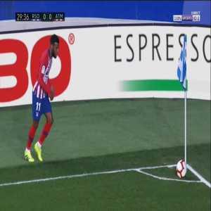 Real Sociedad 0-1 Atlético Madrid - Alvaro Morata 30'