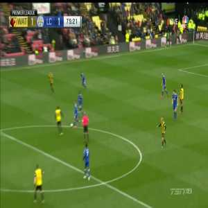 Watford 1-[1] Leicester City: Vardy
