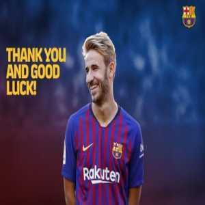 FC Barcelona terminates Sergi Samper's contract