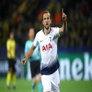 Harry Kane becomes Tottenham's all-time leading goalscorer in European competition with 24 goals