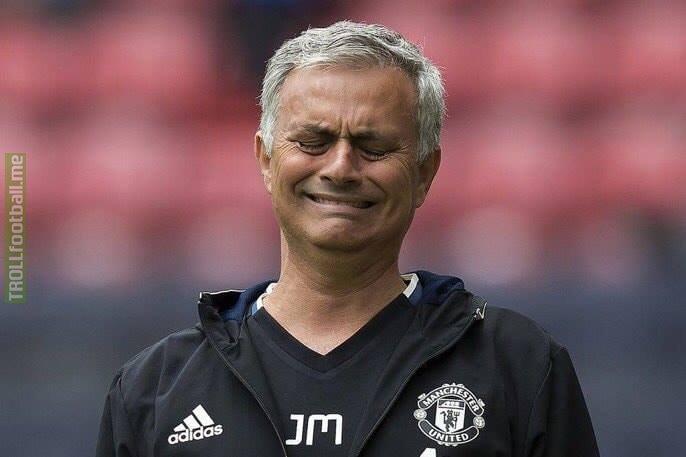 Jose Mourinho right now...