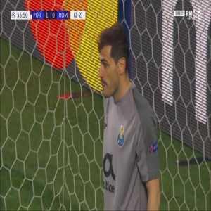 FC Porto 1-[1] Roma [2-3 on agg.] - Daniele De Rossi penalty 37' (+ call)