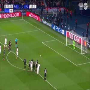 PSG 1-[3] Manchester United - Rashford 90'+' (PK) (3-3 agg.)