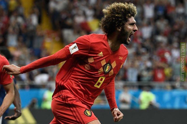 Marouane Fellaini has announced his international retirement having represented Belgium for 12 years 🇧🇪   END OF AN GOLDEN ERA..🐐💔😭