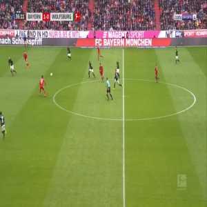 Bayern 2-0 Wolfsburg - Robert Lewandowski 37'