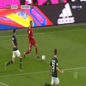 Bayern 6-0 Wolfsburg - Robert Lewandowski 85'