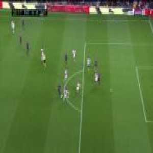 Coutinho missed chance vs Rayo Vallecano