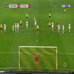 Dortmund 1-0 Stuttgart - Marco Reus penalty 62' (+ call)