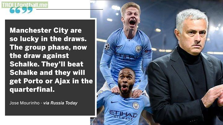 Jose Mourinho on Man City   Shots fired 🔥