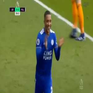 Leicester City [1]-0 Fulham — Youri Tielemans 20'