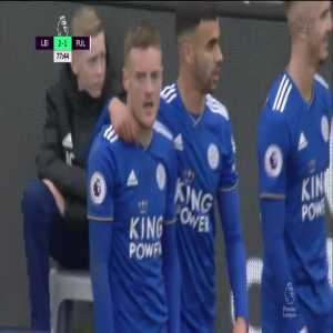Leicester City [2]-1 Fulham: Vardy