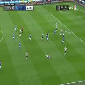 Newcastle United 0-2 Everton - Richarlison 32'